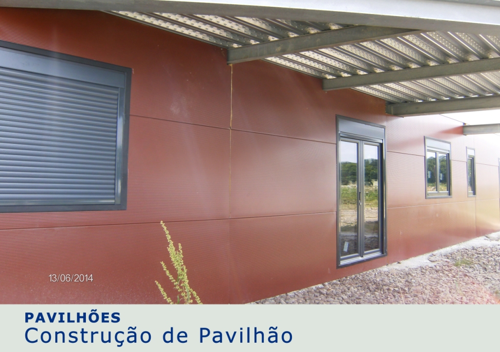 Construção de Pavilhão - 3