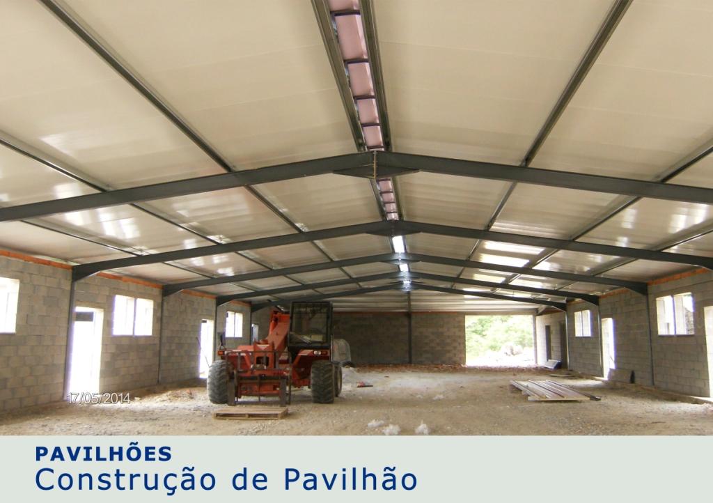 Construção de Pavilhão - 1